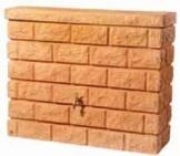 Garantia Rocky Wandtank 400 ltr. Sandstone inkl. Auslaufhahn