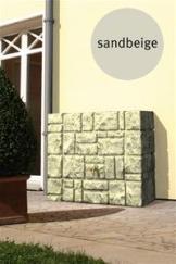 Mauer- Wandtank 300 L sandbeige