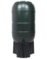 Regensammler Wassertonne für 210 Liter mit Standfuß