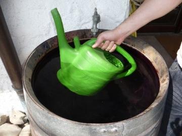 Regentonne, Weinfass Barrique aus Eiche 225 Liter