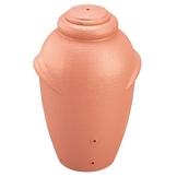 Regenwassertonne Regentonne Wassertank Regentank Regenwasser Amphore 360 Liter mit Deckel (Terracotta)