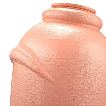Regenwassertonne Regentonne Wassertank Regentank Amphore 360 Liter mit Deckel (Terracotta)