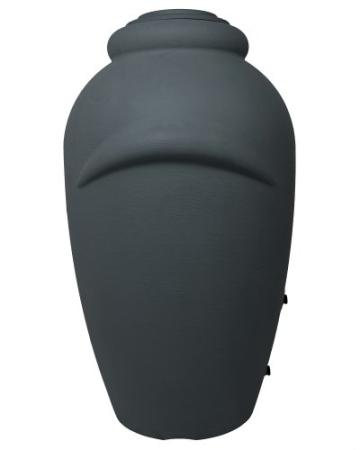 Regenwassertonne Wasserbehälter Amphore Anthrazit 360L