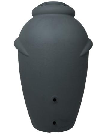 Regenwassertonne Wasserbehälter Regenwasser Amphore Anthrazit 360L
