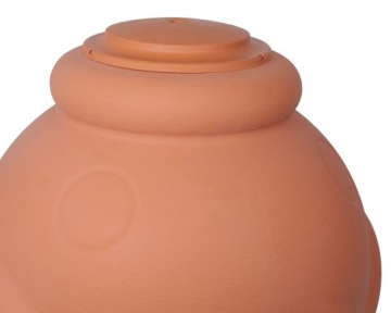Regenwassertonne Wasserbehälter Amphore Terracotta 360L