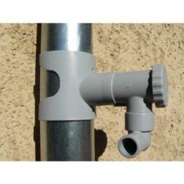 Regentonne, Capt Wasser für Leitungen Circular (grau) - 1