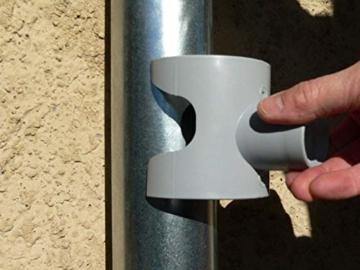 Regentonne, Capt Wasser für Leitungen Circular (grau) - 5