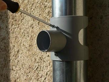 Regentonne, Capt Wasser für Leitungen Circular (grau) - 6